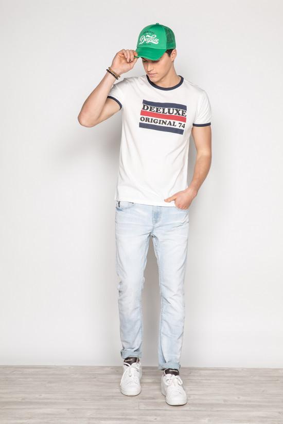 T-shirt RECORD Homme Deeluxe
