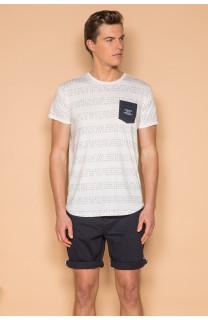 T-Shirt T-SHIRT SCRIPT Homme S19125 (44520) - DEELUXE