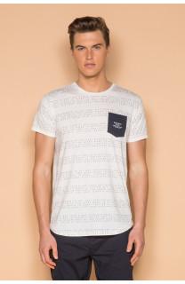 T-Shirt T-SHIRT SCRIPT Homme S19125 (44522) - DEELUXE