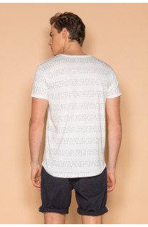 T-Shirt T-SHIRT SCRIPT Homme S19125 (44523) - DEELUXE