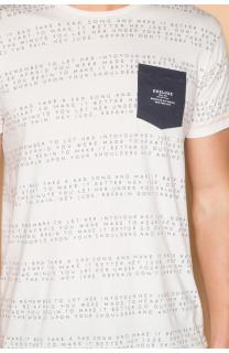 T-Shirt T-SHIRT SCRIPT Homme S19125 (44524) - DEELUXE