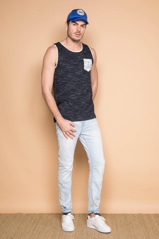 Débardeur T-SHIRT SHAMI Homme S191302 (44541) - DEELUXE
