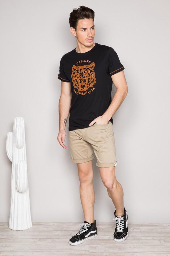T-Shirt T-SHIRT TIGERO Homme S19152 (44620) - DEELUXE