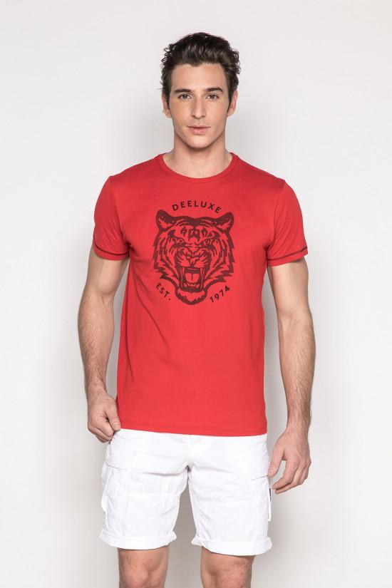 T-Shirt TIGERO Homme S19152 (44620) - DEELUXE