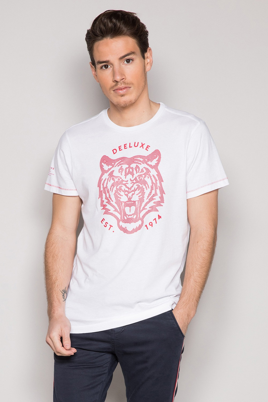 T-Shirt T-SHIRT TIGERO Homme S19152 (44630) - DEELUXE