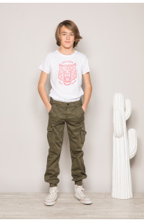 Pantalon PANTALON GARDEN Garçon S197017B (44770) - DEELUXE