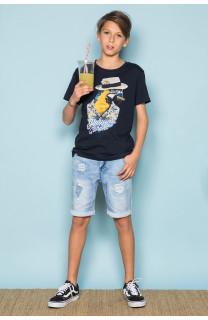 T-Shirt T-Shirt HAVANA Garçon S191108B (44791) - DEELUXE
