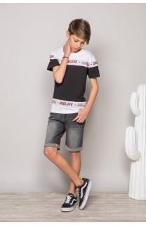 T-Shirt PERSONAL Garçon S19128B (44811) - DEELUXE