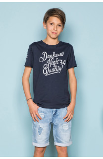 T-Shirt T-Shirt KELVIN Garçon S19173B (44868) - DEELUXE