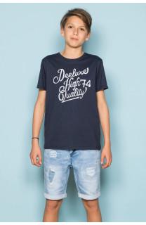 T-Shirt T-Shirt KELVIN Garçon S19173B (44870) - DEELUXE