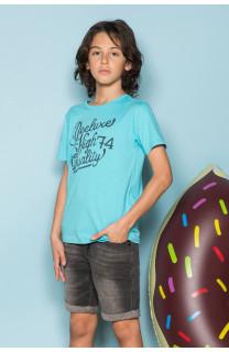 T-Shirt T-Shirt KELVIN Garçon S19173B (44878) - DEELUXE