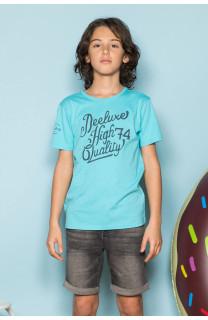 T-Shirt T-Shirt KELVIN Garçon S19173B (44880) - DEELUXE