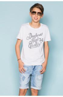 T-Shirt T-Shirt KELVIN Garçon S19173B (44883) - DEELUXE