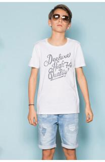 T-Shirt T-Shirt KELVIN Garçon S19173B (44885) - DEELUXE