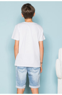 T-Shirt T-Shirt KELVIN Garçon S19173B (44886) - DEELUXE