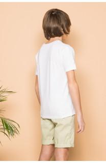 T-Shirt T-Shirt SESSION Garçon S19177B (44896) - DEELUXE