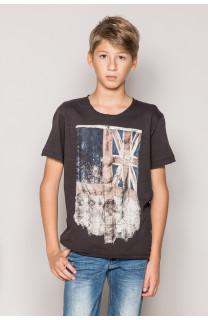 T-Shirt FLAGGY Garçon S19192B (44898) - DEELUXE