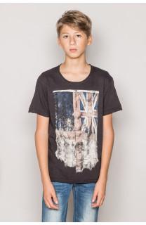 T-Shirt FLAGGY Garçon S19192B (44900) - DEELUXE