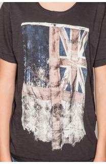 T-Shirt FLAGGY Garçon S19192B (44902) - DEELUXE