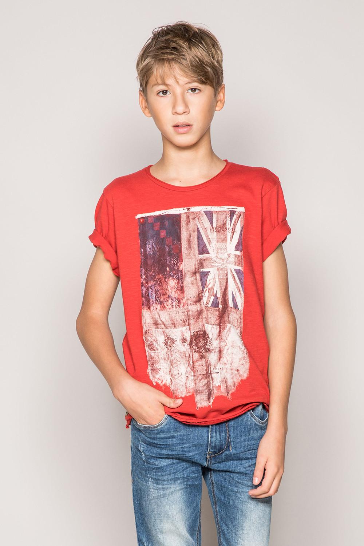 T-Shirt FLAGGY Garçon S19192B (44903) - DEELUXE