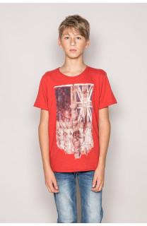 T-Shirt FLAGGY Garçon S19192B (44905) - DEELUXE