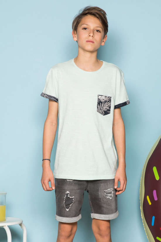 T-Shirt SHAMAR Garçon S19195B (44908) - DEELUXE
