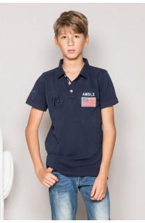 Polo DRISKY Garçon S19231B (44943) - DEELUXE