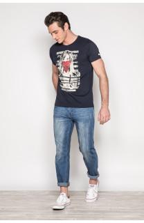 T-Shirt T-SHIRT BONNIE Homme S19182 (45035) - DEELUXE