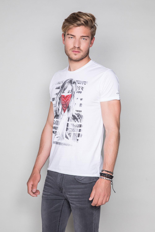 T-Shirt T-SHIRT BONNIE Homme S19182 (45039) - DEELUXE