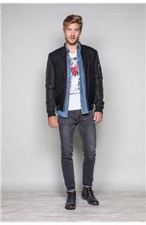 T-Shirt T-SHIRT BONNIE Homme S19182 (45040) - DEELUXE