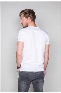 T-Shirt T-SHIRT BONNIE Homme S19182 (45042) - DEELUXE