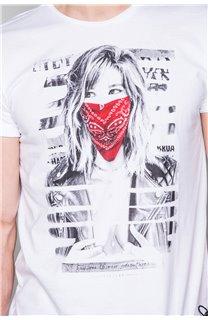 T-Shirt T-SHIRT BONNIE Homme S19182 (45043) - DEELUXE