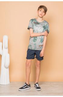 T-Shirt JOSHUA Garçon S19108B (45085) - DEELUXE
