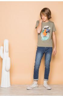 T-Shirt HAVANA Garçon S191108B (45090) - DEELUXE