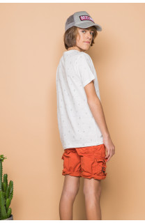 T-Shirt MEXICO Garçon S19113B (45102) - DEELUXE