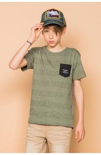 T-Shirt SCRIPT Garçon S19125B (45114) - DEELUXE