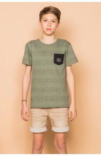 T-Shirt SCRIPT Garçon S19125B (45116) - DEELUXE