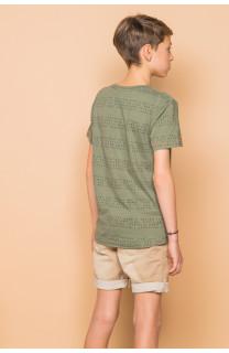 T-Shirt SCRIPT Garçon S19125B (45117) - DEELUXE