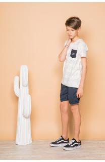 T-Shirt SCRIPT Garçon S19125B (45123) - DEELUXE