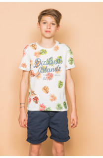 T-Shirt FRESH Garçon S19156B (45141) - DEELUXE