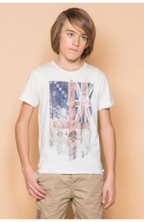 T-Shirt FLAGGY Garçon S19192B (45164) - DEELUXE