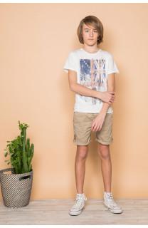 T-Shirt FLAGGY Garçon S19192B (45165) - DEELUXE