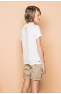 T-Shirt FLAGGY Garçon S19192B (45167) - DEELUXE