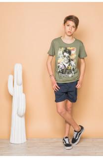 T-Shirt T-Shirt MAVERICK Garçon S19198B (45175) - DEELUXE