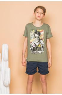 T-Shirt T-Shirt MAVERICK Garçon S19198B (45176) - DEELUXE