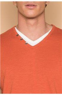 T-Shirt T-SHIRT LEGEND Homme P199 (45255) - DEELUXE