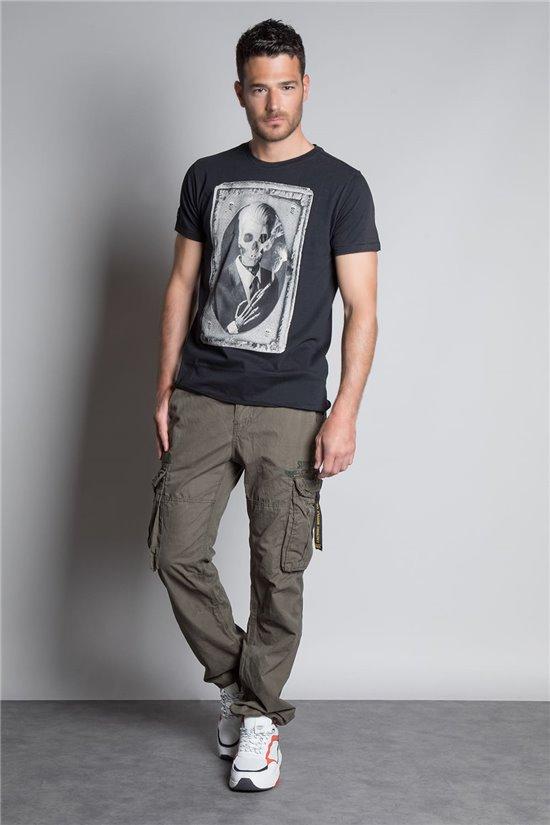 T-Shirt T-SHIRT DENIL Homme P197 (45277) - DEELUXE