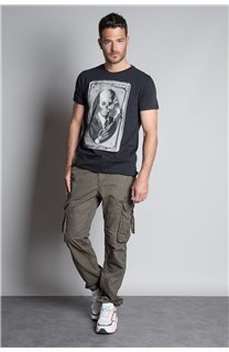 T-Shirt T-SHIRT DENIL Homme P197 (45268) - DEELUXE