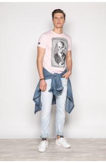 T-Shirt T-SHIRT DENIL Homme P197 (45273) - DEELUXE