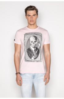 T-Shirt T-SHIRT DENIL Homme P197 (45274) - DEELUXE